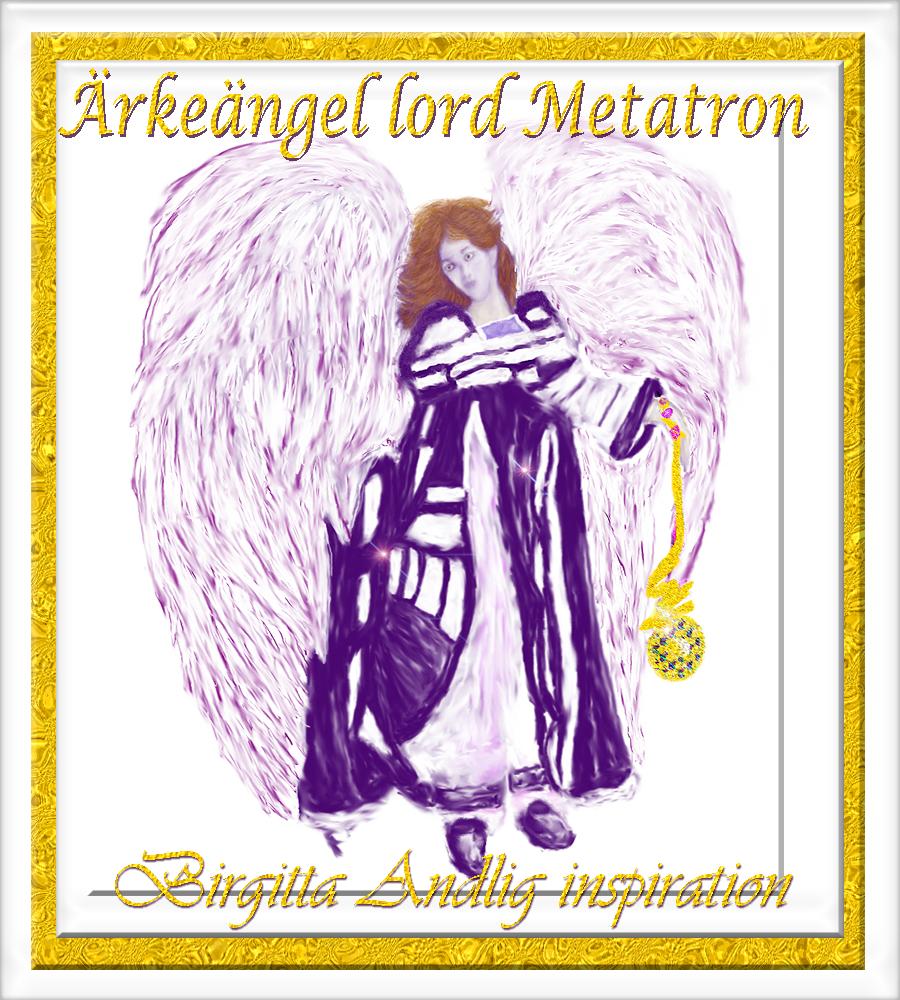 5 Ärkeängel lord Metatron Birgitta Andlig inspiration