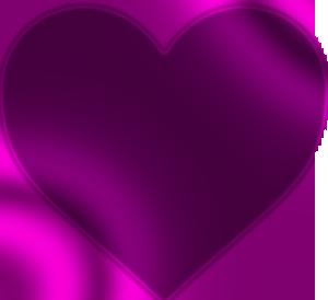lila hjärta betyder