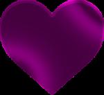Hjärta lila