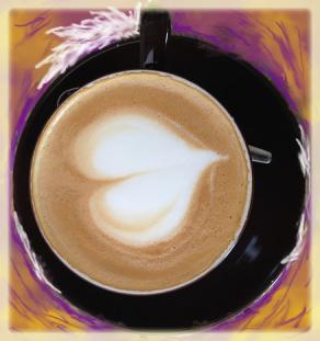 Kaffekopp. Birgitta Andlig Inspiration.
