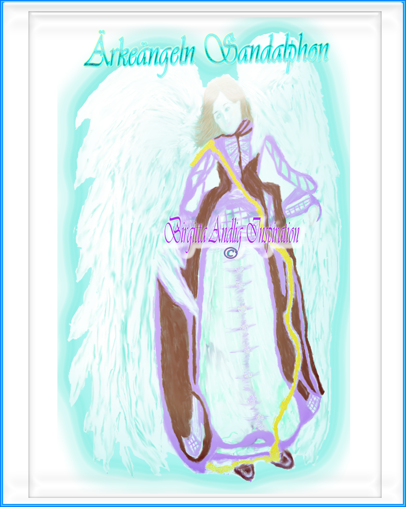Ärkeängeln sandalphon-birgitta-andlig-inspiration