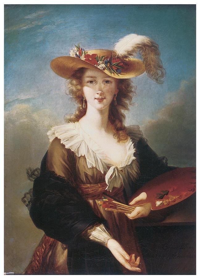 Denna bild har ett alt-attribut som är tomt. Dess filnamn är self-portrait-marie-louise-elisabeth-vigee-lebrun.jpg