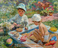 Denna bild har ett alt-attribut som är tomt. Dess filnamn är 64dd493f9ce6934cef484a306d74723c-art-children-sandbox.jpg