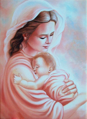 Infant-Baby-With-Mother-Love-5D-DIY-Diamond-Painting-Cross-Stitch-Of-Diamonds-Embroidery-Mosaic-Living