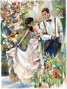 5bb069f69fad81933c5d56b786ad61a5--wedding-art-wedding-gifts