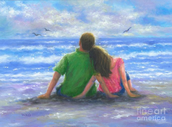 Denna bild har ett alt-attribut som är tomt. Dess filnamn är beach-lovers-pink-and-green-vickie-wade.jpg