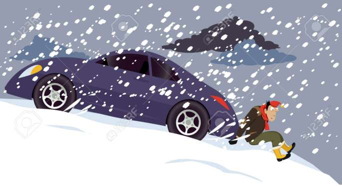 Denna bild har ett alt-attribut som är tomt. Dess filnamn är 74961555-man-pushing-a-stalled-car-under-a-heavy-snow-eps-8-vector-illustration.jpg